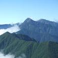 アサヨ峰・北岳・間ノ岳