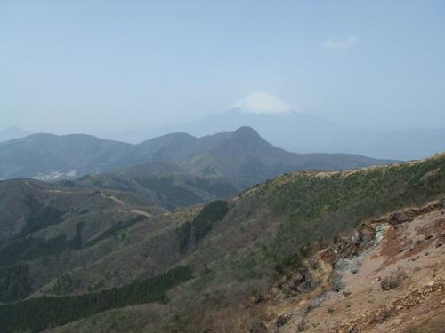 金時山・富士山