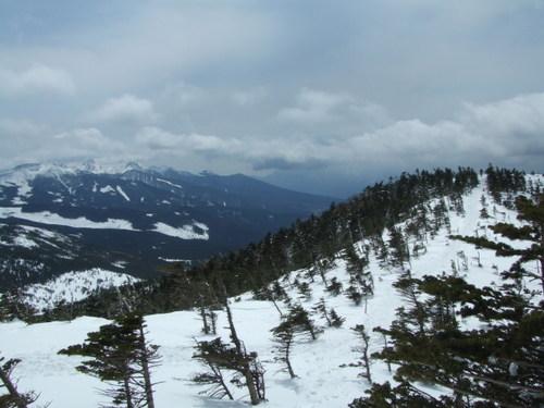 八ヶ岳・北横岳南峰